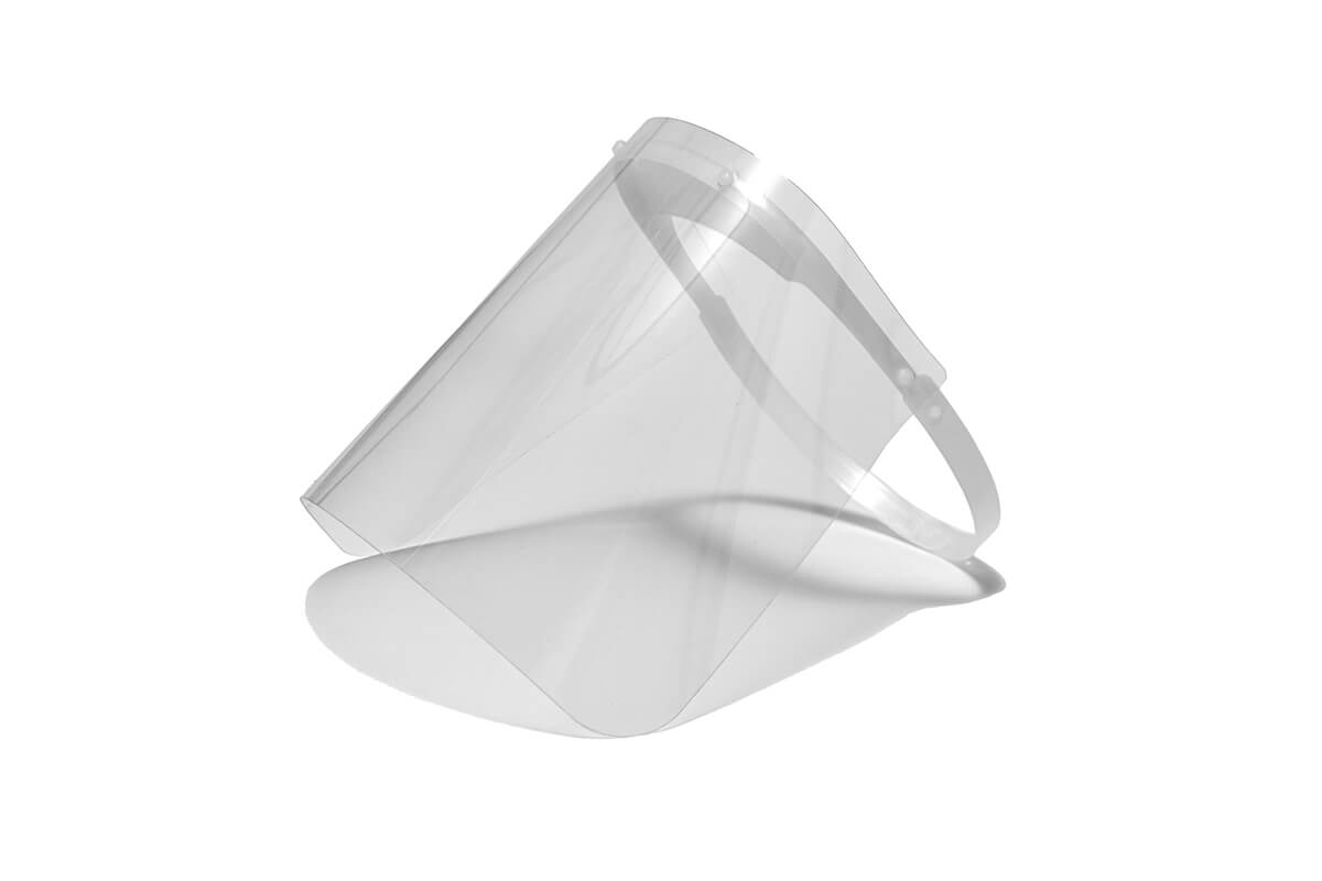 Pantalla de protección facial completa homologada