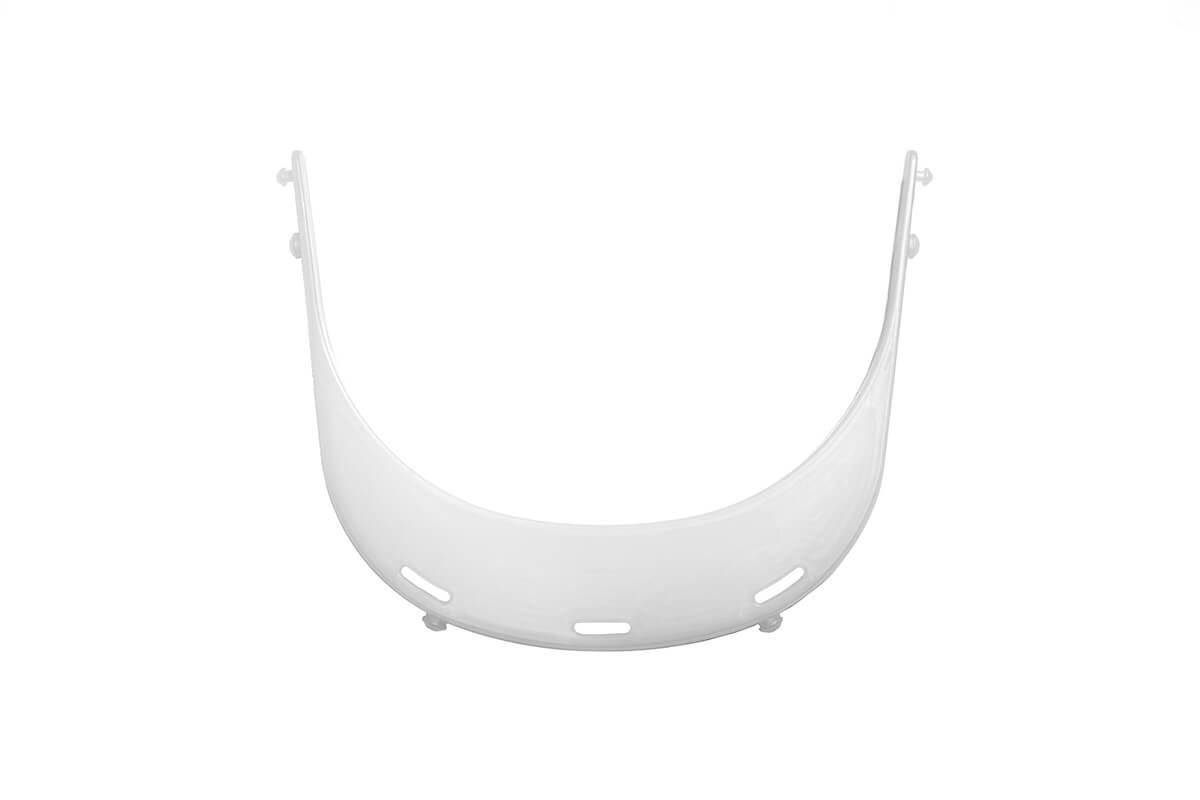 Soporte para pantalla de protección facial homologado