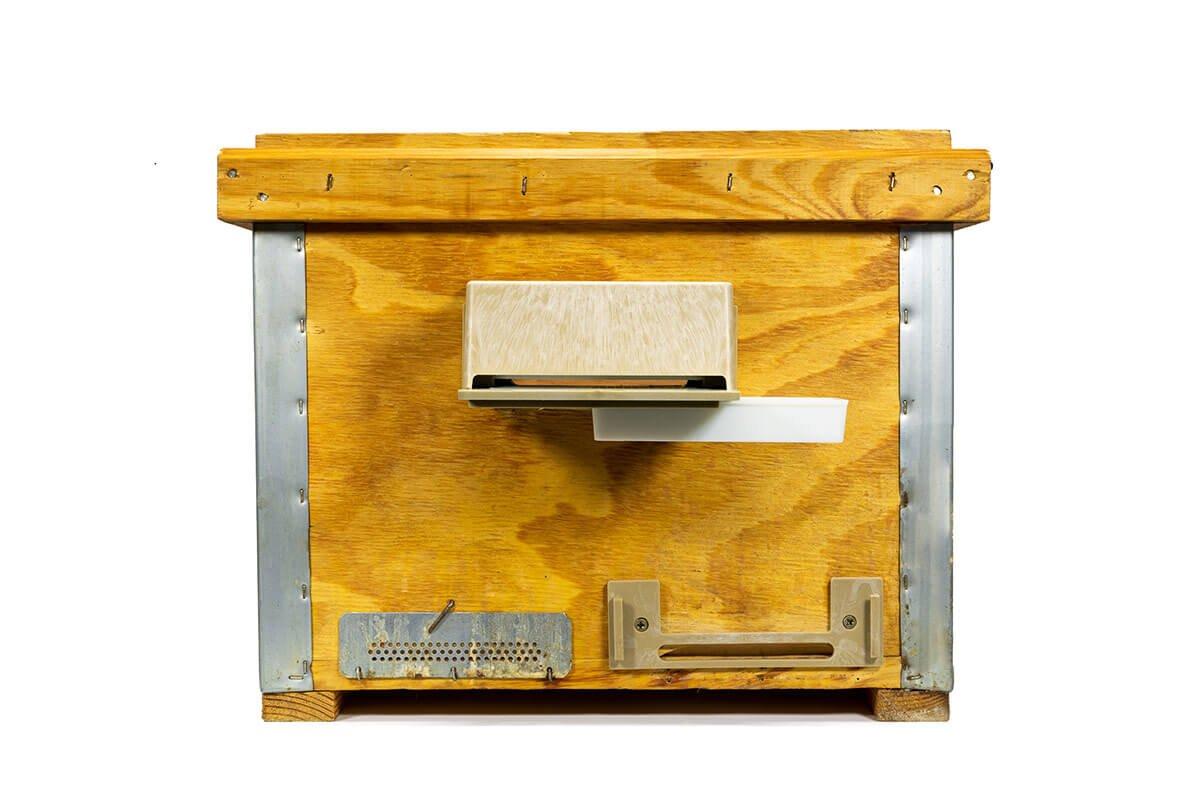 Cajita para el tratamiento de la varroa en abejas ecológico
